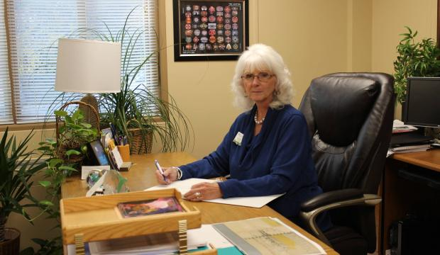 Karren Weichert, president and CEO of Midland Care, has worked for decades to provide hospice services in the Topeka area. (Regina Stephenson/Special to The Capital-Journal)