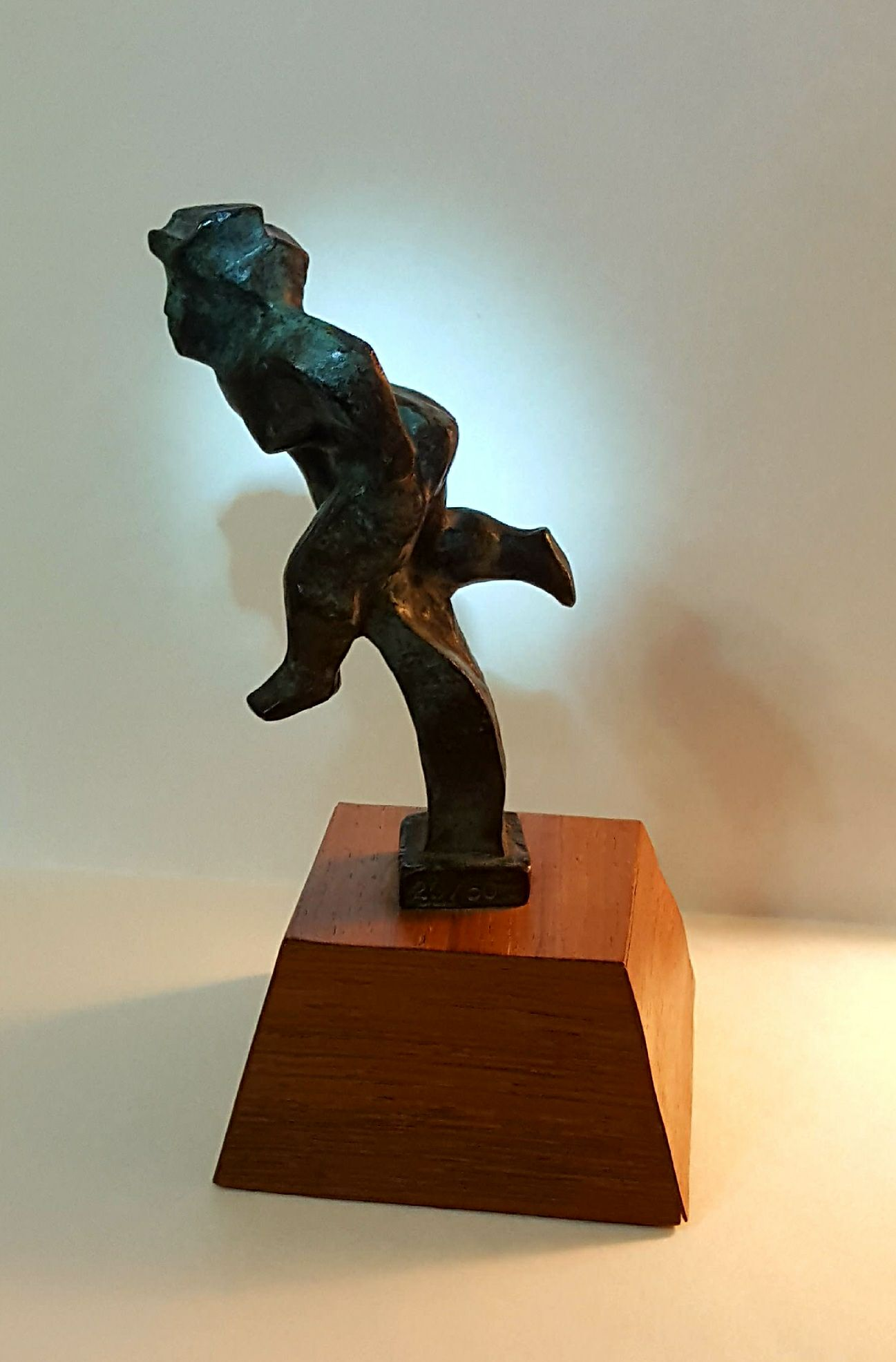 Image of Chaim Gross Bronze Sculpture Untitled