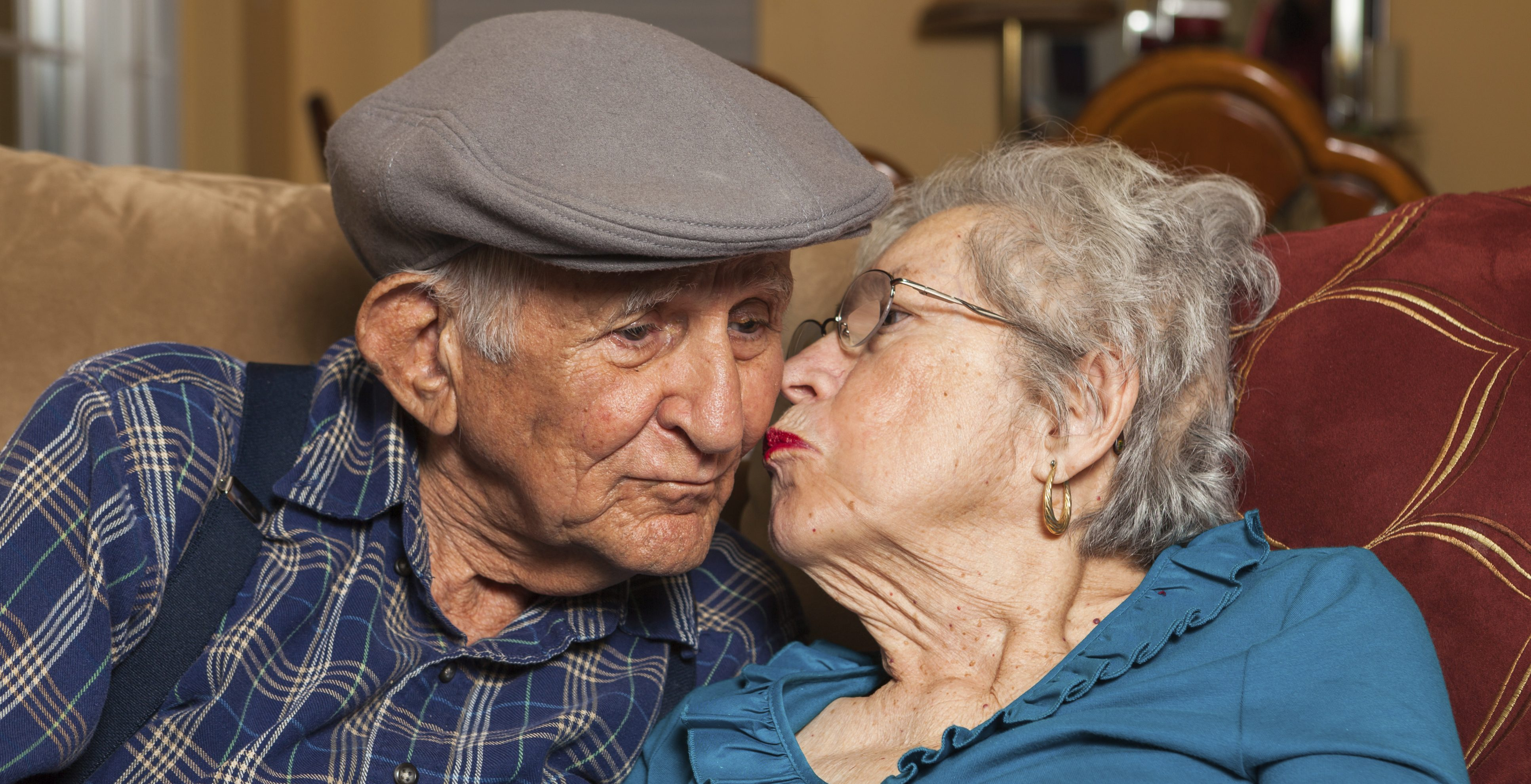 Image of Elderly Love