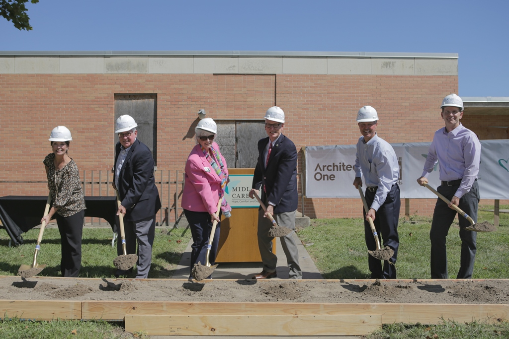 Image of Midland Care Meals on Wheels Compass Center Groundbreaking