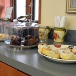 The House at Midland Care offers freshly-prepared, complementary snacks and light meals to visitors.